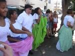 Bomba dancers