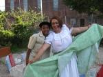 Bomba dancers Guillermo and Maribel Lozada
