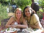 Lisa Stephano and Maitreyi Roy from the Pennsylvania Horticultural Society.