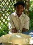 10 year-old Guillermo in El Batey.