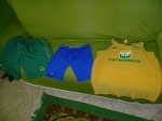 11:30pm: I get my uniform ready for next day's training. Bedtime!