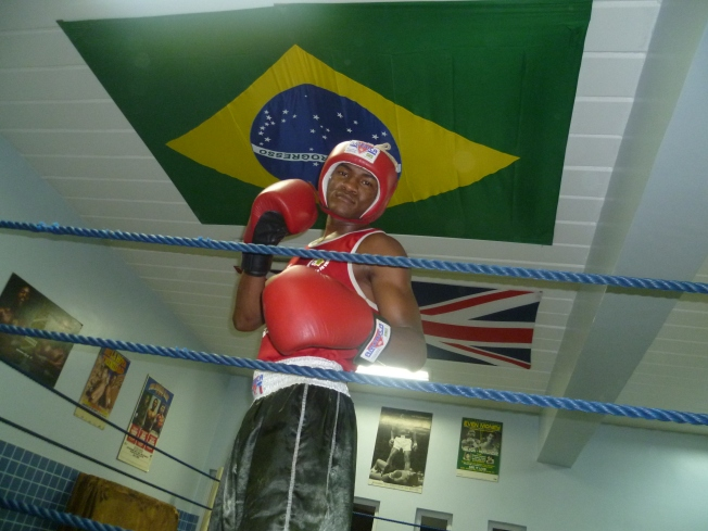 At Fight for Peace ring: Luta pela Paz forever!