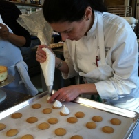 Chef Leticia making Mallomars
