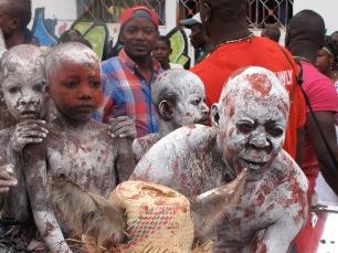 Carnaval participants