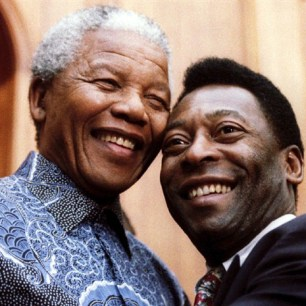 Pelé and Mandela