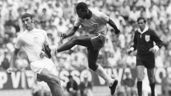 Pelé in 1970 World Cup
