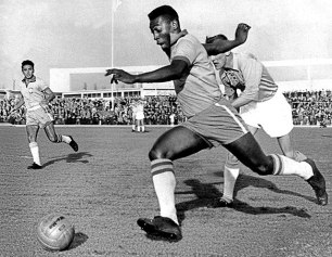 Pelé in the 1960s