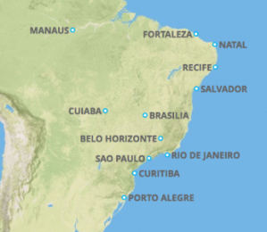 Brazil Host Cities