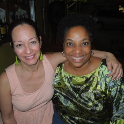 Nanette Hernandez and Yolanda Arroyo Pizarro