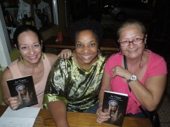 Nanette Hernandez, Yolanda Arroyo Pizarro and Nanette's cousin, Lucila Hernandez