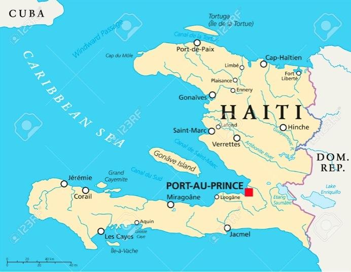 Haiti Karte.Haiti Map Los Afro Latinos