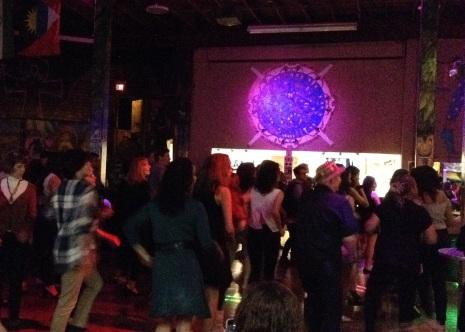 Audience Dancing
