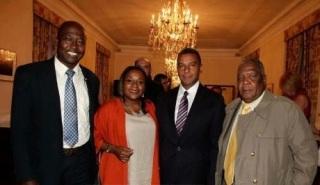 En la embajada Americana celebrando herencia africana 2014