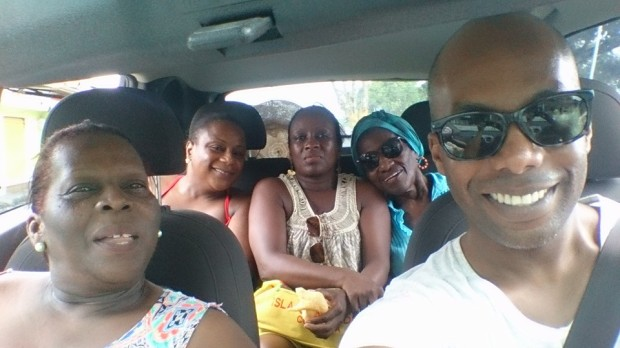 Paseo en familia